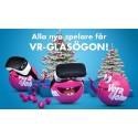 Vera&John delar ut VR-glasögon till alla nya spelare!