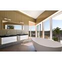 Bathlife levererar badrumsinredning till ett upplevelsehus.