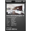 Följ bostadsbudgivningar i realtid med iPhone app