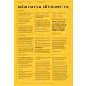 Swedfunds faktablad om Mänskliga rättigheter
