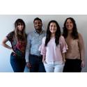 Fyra unga ledare tar emot Kompassrosstipendiet av Kungen den 24 april