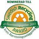 Gästrike återvinnare finalist i  Swedish Recycling Award
