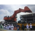 East Marine commissions one of the largest excavator in the region for its rock discharge barge