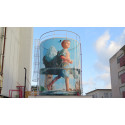 Mural master pieces by Fintan Magee to No Limit