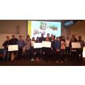 Framtidens mat på ett mer hållbart sätt blev resultatet på årets food hackathon