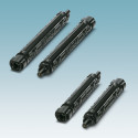 Robust DC fuse adapters for photovoltaic systems