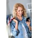 Danskerne shopper via mobiltelefonen som aldrig før