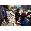 Situationen allt mer desperat för barnen i Gaza
