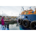 New Moray Council dredger officially named