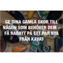 """Kavat stöttar återigen organisationen """"Vi Gör Vad Vi Kan"""""""