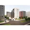 Parkeringsplats blir till levande stadskvarter i Jakobsbergs centrum