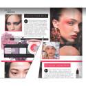 Couleurs from QNET, eyeshadow palette in print magazine GRAZIA / Couleurs от QNET, палитра теней в журнале GRAZIA