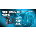 Makita lanserar superkompakta borrhammaren HR166D