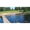 Avrådan från att bada på Uddebobadet i Lekeryd