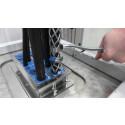Test af kabelfastholdelse. Dokumentation for trækaflastning og fastholdelsesegenskaber
