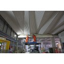 Architectural ceilings completed at Farringdon and Liverpool Street stations