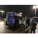 Nu rullar Skyddsbussen för ett tryggare Göteborg