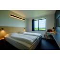 Fitnesscenter og 103 nyrenoverede værelser på Zleep Hotels i Billund