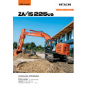 Broschyr Hitachi ZX225US-6