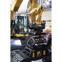 CAT® hjulgrävare integreras med Rototilt®