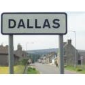 Flood damaged Dallas road repairs