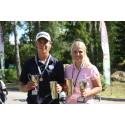 Felix och Filippa svenska juniormästare i golf