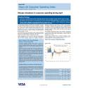 Sharper slowdown in consumer spending during April