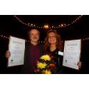 Lungcancerförbundet Stödets stipendium går till Roger Henriksson och Monica Sandström