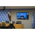 Finlands regering och FN kallar till konferens som svar på Syrienkrisen. På agendan: att rädda liv, stärka flyktingars skydd och bygga motståndskraft