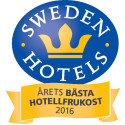 Sweden Hotels Awards 2016 - nomineringar Årets Bästa Hotellfrukost 2016