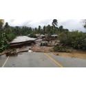 Hjælpen er på vej til Haiti
