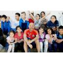 Skolbarn i Nyköping möter sina barnrättshjältar