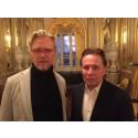 Karl-Magnus Fredriksson och Reine Brynofsson - årets Gunn Wållgren-stipendiater