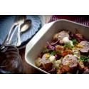 Recept - Gnocchi med salvia och fläskfilé