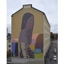 Sainerin muraali Helsingin Kalliossa on valmis