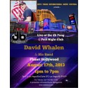 Watch David Whalen and His Band 8/17 at the DB's Pong & Pool Nightclub