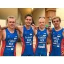 Jørgen Gundersen viste styrke i triatlon World Cup i Huelva, Spania i dag