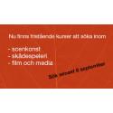 Påminner om aktuella kurser på Stockholms dramatiska högskola