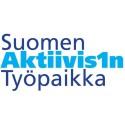 Suomen Aktiivisin Työpaikka -logo