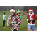 Sporting Santas make it a super Christmas for Bury Hospice