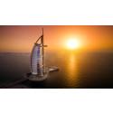 Bo som en kändis på Burj Al Arab Hotel Dubai