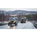 Forsvaret varsler om stor militær trafikk på vegene i Nord-Trøndelag