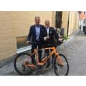 Michael Thorén, VD på En Svensk Klassiker och Tony Grimaldi, VD Cycleurope
