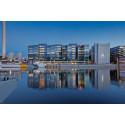 Skanska säljer kontorsfastighet i Hammarby Sjöstad, Stockholm, för cirka 900 miljoner kronor