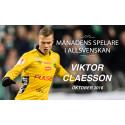 Månadens Spelare i Allsvenskan: Viktor Claesson