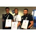 Certifierade på Weblink Support: Jesper Johansson, Jonathan Lager och Simon Nylund.