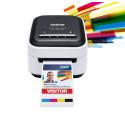 Kristallklar beschriften – mit tintenlosem Farb-Etikettendrucker