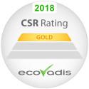Canon får guld i hållbarhet från EcoVadis