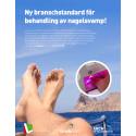 Annons i medicinska fotvårdsförbundets tidning oktober -17