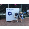 Bluewater pure water delights crowds at annual International Tennis Hall of Fame tennis tournament in Newport, RI